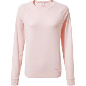 Craghoppers NosiLife Sydney Crew Shirt Dame seashell pink